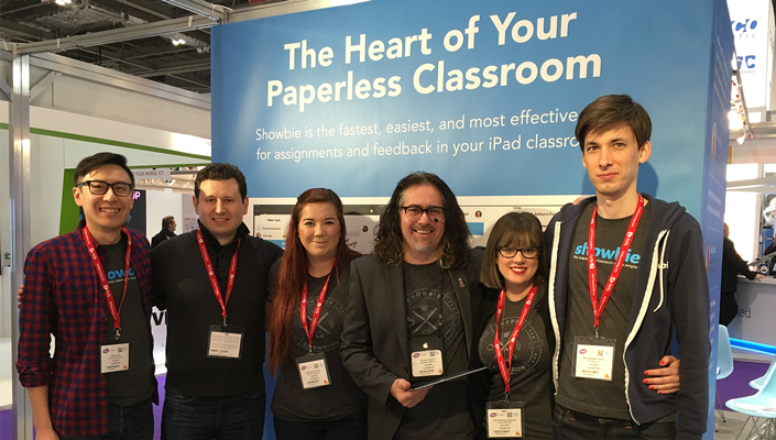 Showbie Team at Bett