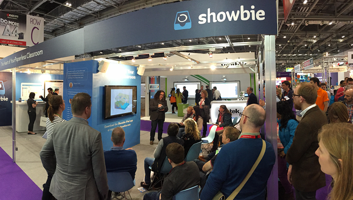 Showbie at Bett 2016